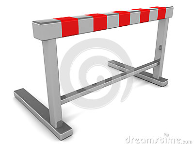 Hurdle barrier