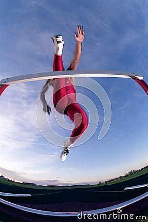 Free Hurdler Stock Photography - 3865842