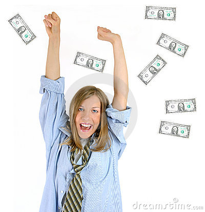Free Hurray! First Million! Success! Stock Photo - 142750