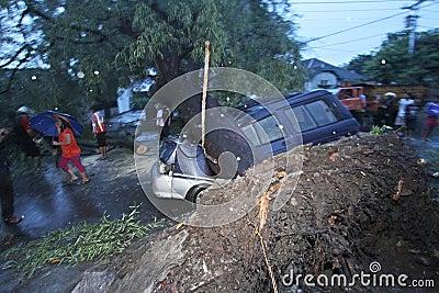 The  hurricane Editorial Image