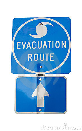 Hurricane Evacuation Route
