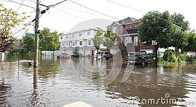Hurricane Irene Editorial Photo