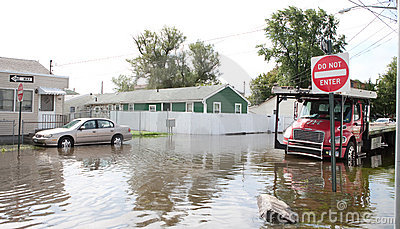 Hurricane Irene Editorial Stock Photo
