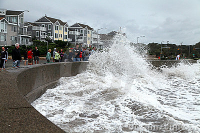 Hurricane Irene Editorial Stock Image