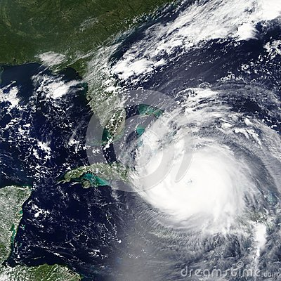Free Hurricane Irma Is Heading Towards Florida, USA In 2017 - Elements Of This Image Furnished By NASA Stock Photo - 107302800