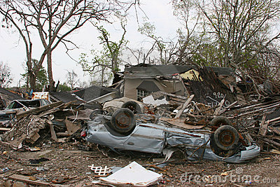 Hurricane Katrina Destruction
