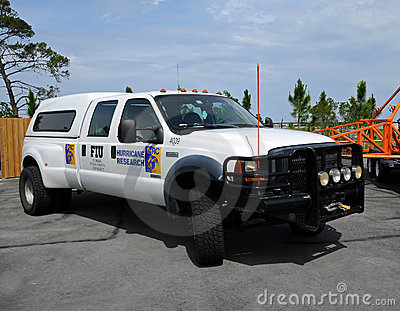 Hurricane research vehicle Editorial Stock Photo