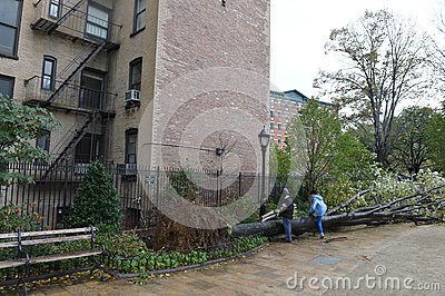 Hurricane Sandy Editorial Image