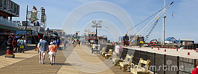 Hurricane Sandy Recovery in Seaside Heights, New Jersey Editorial Stock Image