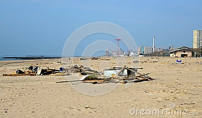 Hurricane Sandy s Aftermath Editorial Photography