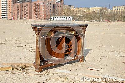 Hurricane Sandy s Aftermath Editorial Photo