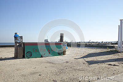 Hurricane Sandy - 1 Year Later Union Beach Editorial Photo