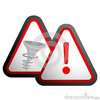 Hurricane warning signal