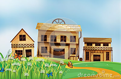 Hus i grannskapen