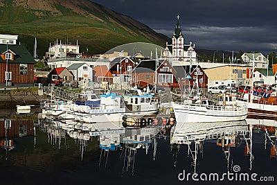 Husavik, whale-safari capital of Iceland