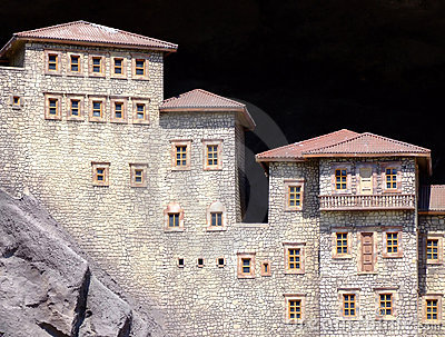 Häuser in den Bergen
