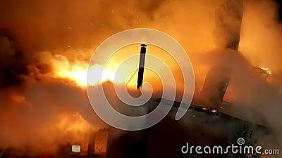 Huset avfyrar på Infernobrandkatastrof