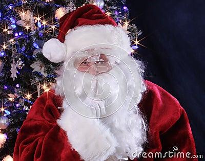 Hush says Santa