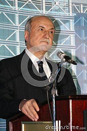 Husnu Ozyegin Editorial Stock Photo