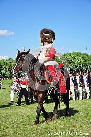 Hussar general Editorial Stock Photo