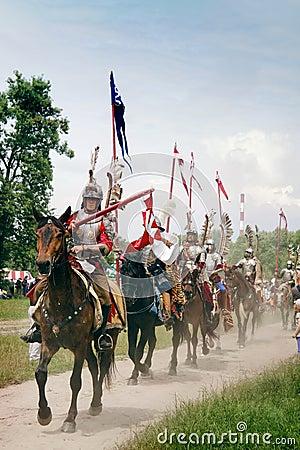 Hussars Cavalry Ride Editorial Stock Image