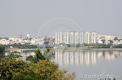 Hussein Sagar lake, Hyderabad
