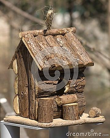 Hut for birds