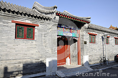 Hutong and allery in Beijing