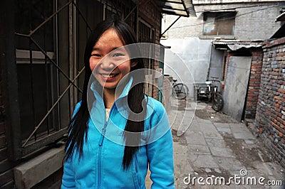 Hutong in Beijing China Editorial Image