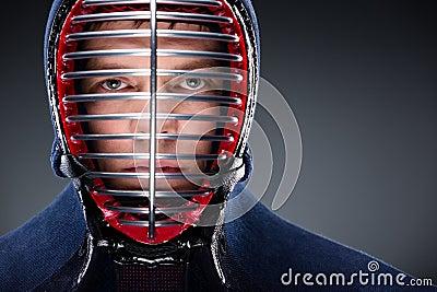 Huvud som skjutas av kendoka
