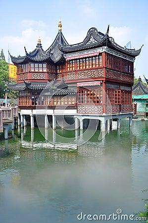 Free Huxinting Teahouse, Yu Gardens, Shanghai Royalty Free Stock Photos - 26368638