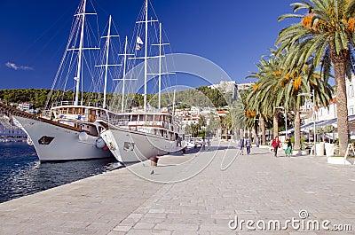 Hvar, Croatia Editorial Image