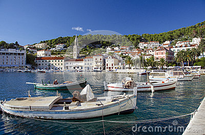 Hvar, Croatia Editorial Stock Photo