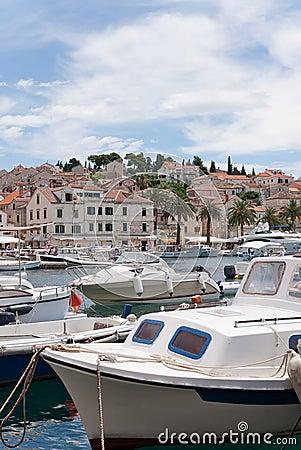 Hvar and its harbor