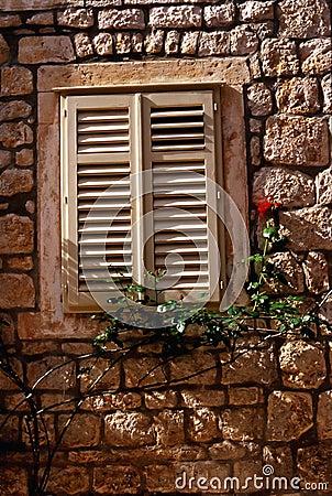 Free Hvar Window Royalty Free Stock Image - 190486