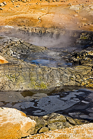 Hverir Namafjall, Iceland.