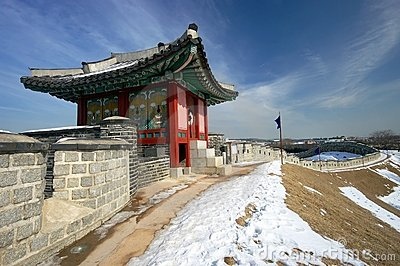 Hwaseong Fortress Sentry Post