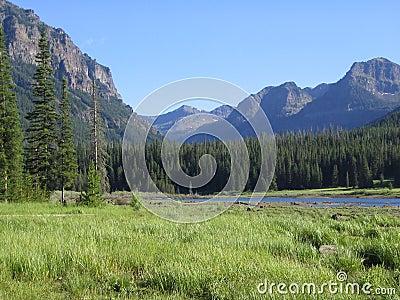 Hyalite Reservoir&Mtn Range