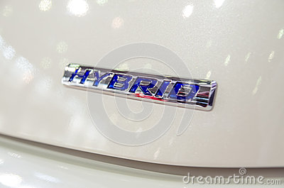 Hybrid Car Editorial Stock Image
