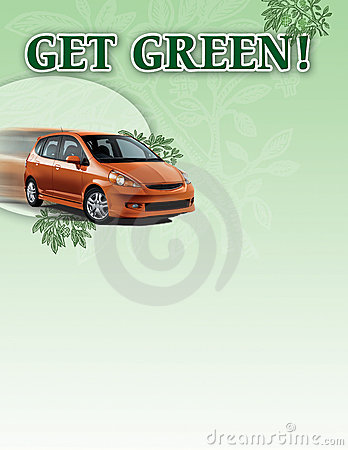 Hybrid Car Poster