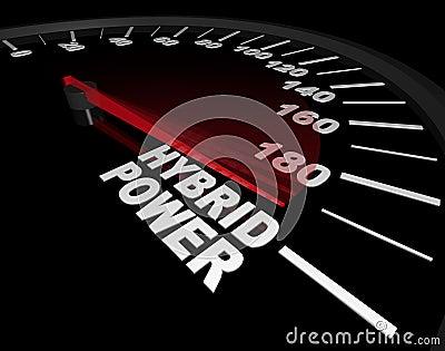 Hybrid Power - Speedometer