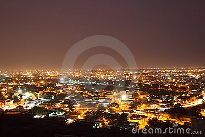 Hyderabad at night Editorial Photo
