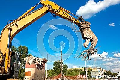 Hydraulic Concrete Crusher