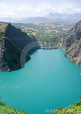 Hydro Dam view from the Sky