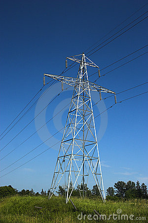 Free Hydro Electric Transmission To Stock Photo - 2997410