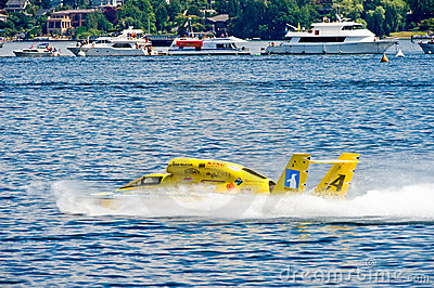 Hydro race boat Editorial Photography