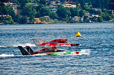 Hydro Race Boats Editorial Photo