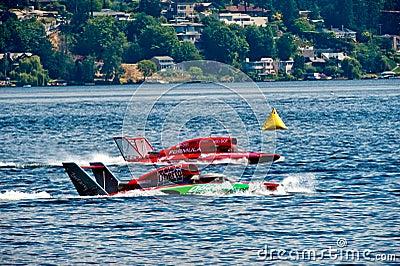 Hydro Race Boats Editorial Photo