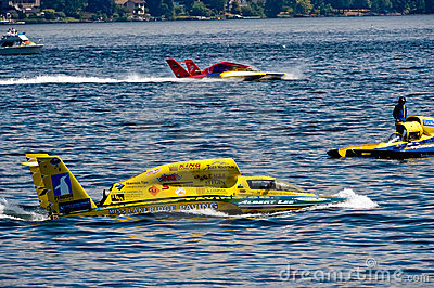 Hydro Races Seafair Seattle Editorial Stock Image