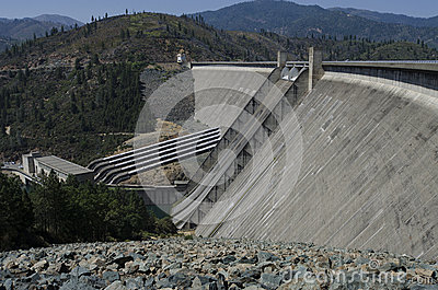 Hydroelectric Dam and Powerhouse, USA